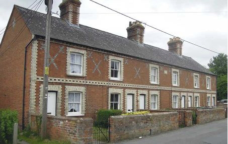 Victorian Terrace Auctioned in Uttoxeter England
