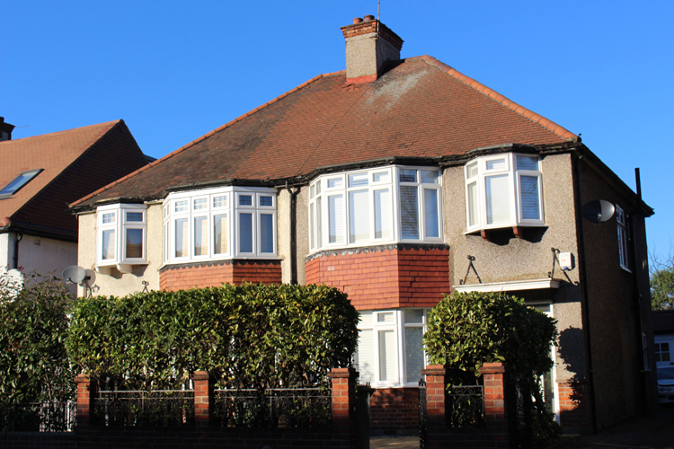 1930s victorian house in Eastbourne England sold at property auction
