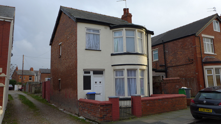 Detached House sold at Auction in Blackpool UK