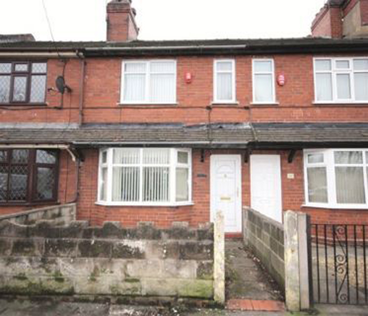 Property auctioned off in Stoke On Trent