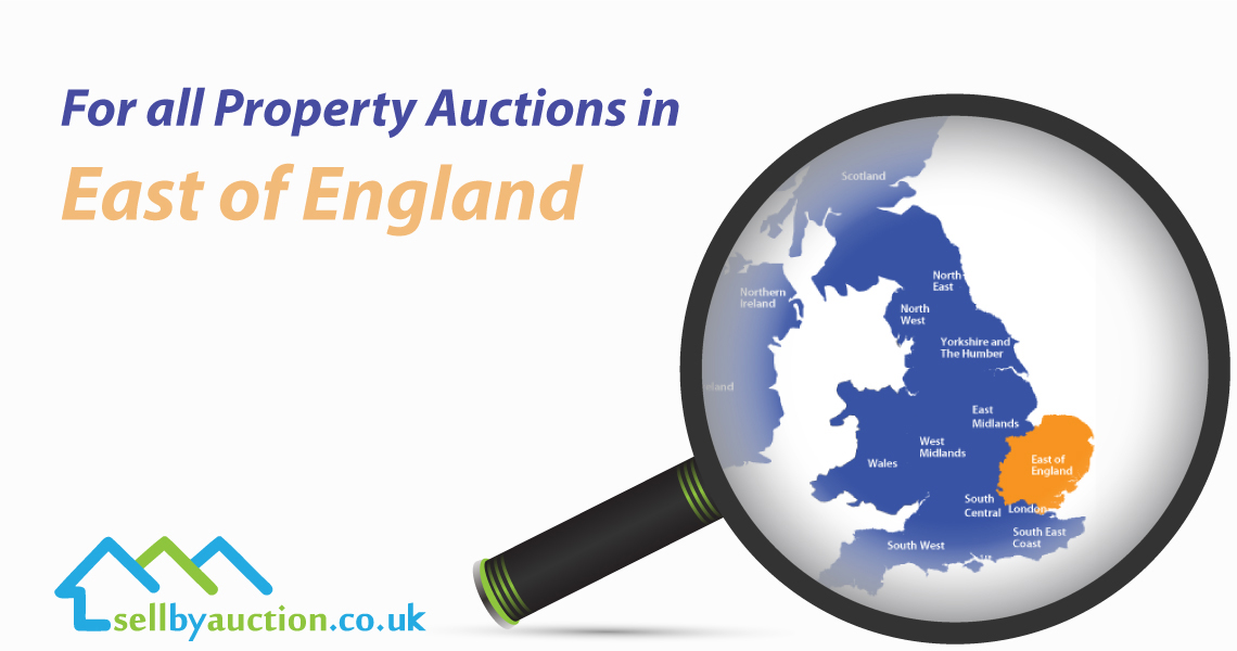 Property Auctions in East England