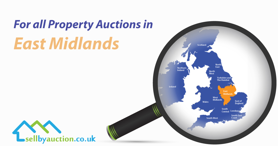 Property Auctions in East Midlands