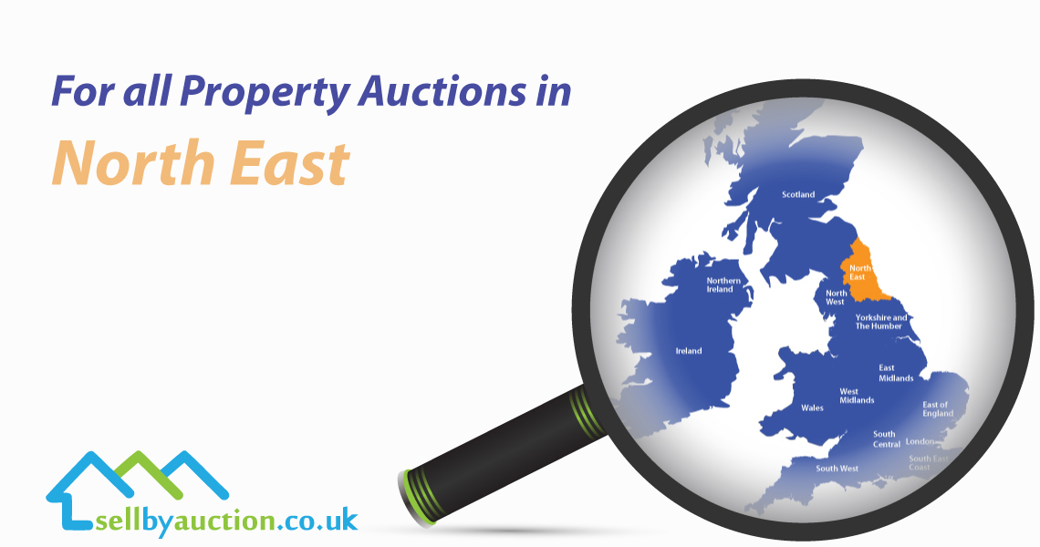 Property Auctions in North East of England