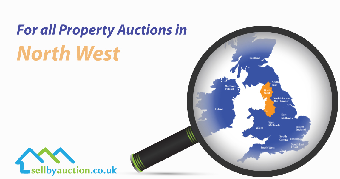 Property Auctions in North West of England