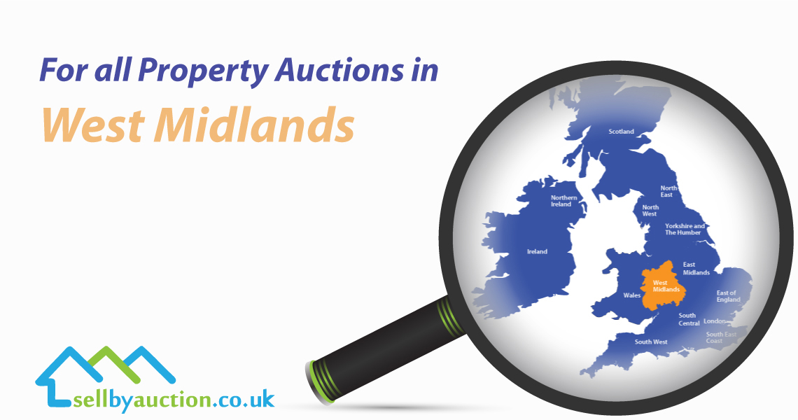 Property Auctions in West Midlands