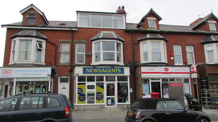 retail property at Blackpool commercial centre